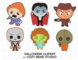 halloween clipart cute halloween clipart chucky dracula freddy krueger jack