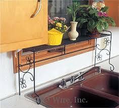 Shelf Over Kitchen Sink by J U0026j Wire Kitchen Sink Shelf With Daisies