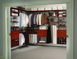 furniture modern walk in closet design idea with elegant brown