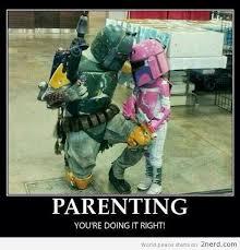 Step Parent Meme - a 12 step guide to good parenting