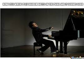 Piano Meme - playing piano by blitzersam meme center