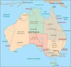 major cities of australia map getting around ports of call australia