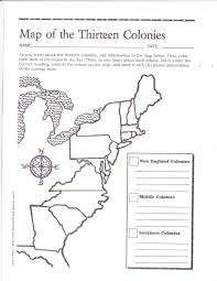 Blank Map Of Middle America by Free Printable 13 Colonies Map Social Studies Pinterest Free