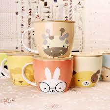 Cute Coffee Cups Aliexpress Com Buy Upstyle Cute Coffee Mug Animal Pattern