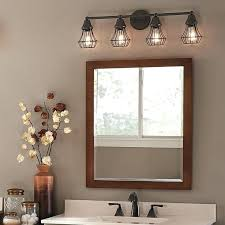 Bathroom Lights Above Mirror Bathroom Cabinet With Light And Mirror Gilriviere