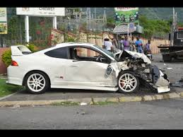 seven hospitalised after car crashes in yallahs news jamaica