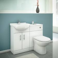 Gloss White Vanity Unit Alaska High Gloss White Vanity Unit Cloakroom Suite With Basin Mixer