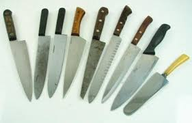 lot 9 vtg american made chef knives kitchen cattaraugus foster