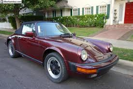 the samba porsche 911 thesamba com vw classifieds 1984 porsche 911 cabriolet ruby