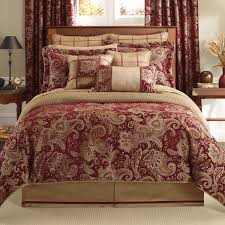 Black And Red Comforter Sets King Bedding Belk Croscill Bedding Leela Collection Leopard Print