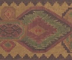 buy wallpaper border southwestern southwest western design tan