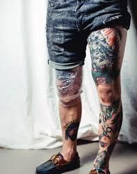 top 75 best leg tattoos for sleeve ideas and designs in