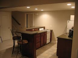 warm beige home basement bar interior designs with gorgeous tier