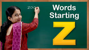 learn words starting with z flash cards u2013 words starting with