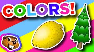 the color song clip kids english kindergarten preschool music