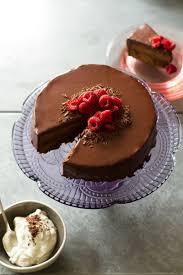 sachertorte chocolate apricot cake with dark chocolate ganache
