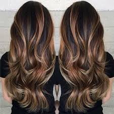 how to fade highlights in hair dark brown hairs 35 gorgeous highlights for brightening up dark brown hair