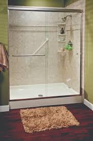 Shower For Bathroom Bathroom White Modern Walk In Shower With Glass Door In Fresh