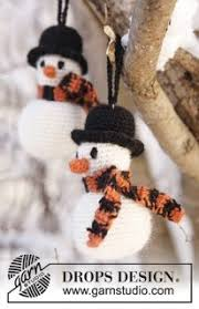 work up a chilly crochet snowman for the winter season bring him