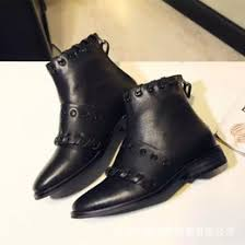 womens boots zipper back discount ankle boots back zipper 2017 ankle black boots back