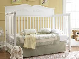 White Convertible Baby Crib Graco Non Drop Side 5 In 1 Convertible Crib