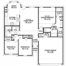 4 bedroom split floor plan floor plan split bedroom house plans plan floor ranch master