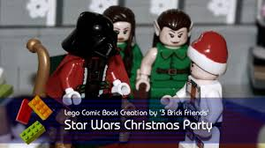 lego star wars christmas party lego comic book