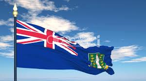 Virgin Islands Flag Flag Of British Virgin Islands Royalty Free Video And Stock Footage