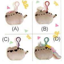 pusheen earrings pusheen 4 5 soft small plushies with