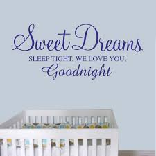 sweet dreams baby boy quotes image gallery hcpr sweet dreams quote wall decal