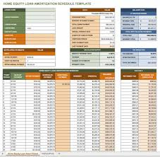 Mortgage Calculator Amortization Table by Free Excel Amortization Schedule Templates Smartsheet