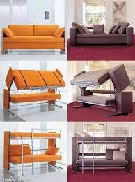canapé lit superposé le canapé qui se transforme en lit superposé des idées