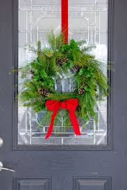 Live Greenery Christmas Decorations by How To Make A Fresh Greenery Wreath Wholefully