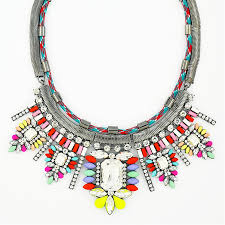 color crystal necklace images Crystal resplendence collar multi color glass crystal statement jpg