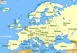 middle east map hungary ophthalmic oncology of the eortc european members