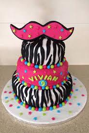 mustache birthday cake zebra print mustache birthday cake cakecentral