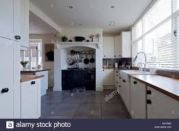 modern country style kitchen in macclesfield townhouse cheshire