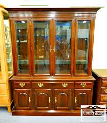 temple stuart solid cherry china cabinet baltimore maryland