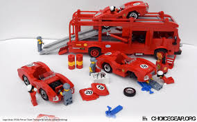 lego speed champions ferrari lego ideas speed champions 1950s ferrari race transporter choice