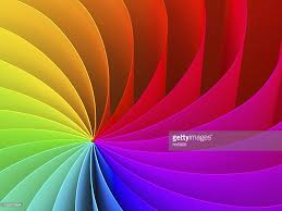 Color Spectrum Abstract Swirl Pattern Of Rainbow Color Spectrum Stock Photo