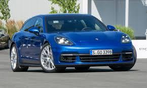 porsche panamera blue 2018 porsche panamera first drive review autonxt