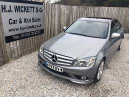 used mercedes c class used mercedes c class c280 sport silver 3 0 saloon holsworthy