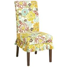 pier 1 set of 4 dana slipcovers fresh floral pattern dining chair