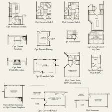 Chapel Floor Plans And Elevations Woodfield At Chapel Cove In Charlotte North Carolina Pulte