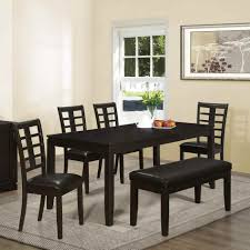 Dining Room Furniture With Bench Dinning Farm Table With Bench Bench Table Set Dining Table And