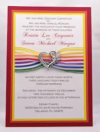 wedding invitations orlando top album of rainbow wedding invitations theruntime