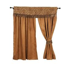 decorate with western curtains rustic style window treatments