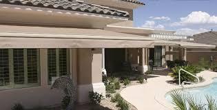 Hand Crank Retractable Awnings Retractable Awnings U2013 Arizona Rain Gutters U0026 Shade Experts