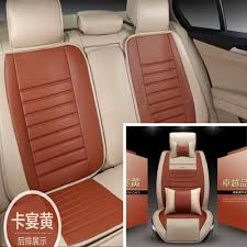 Interior Accessories Nice Amazing Deluxe Car Seat Covers Full Set Auto Cushion For 5