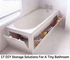 Storage Solutions Small Bathroom 17 Diy Storage Solutions For A Tiny Bathroom Lil Moo Creations